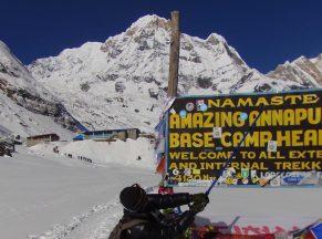 Annapurna Basecamp Heli Trek