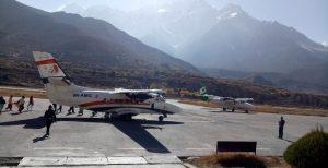 Jomshom Airport Nepal